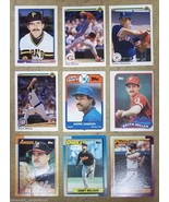 Baseball Cards Lot of 9 Slaught Mahler Wilson D... - $12.27