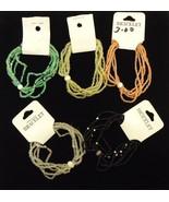 Milt-strand Stretchy Bracelets Qty 19 Glass Pla... - $30.18