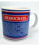 Democrats Convention Prayer Mug Red White Blue Star 14 oz - $9.99