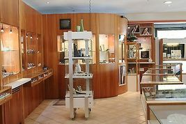 Boucles D'Oreilles en or Jaune 18K avec Onyx et Céramique Peint à la Main Italy image 9