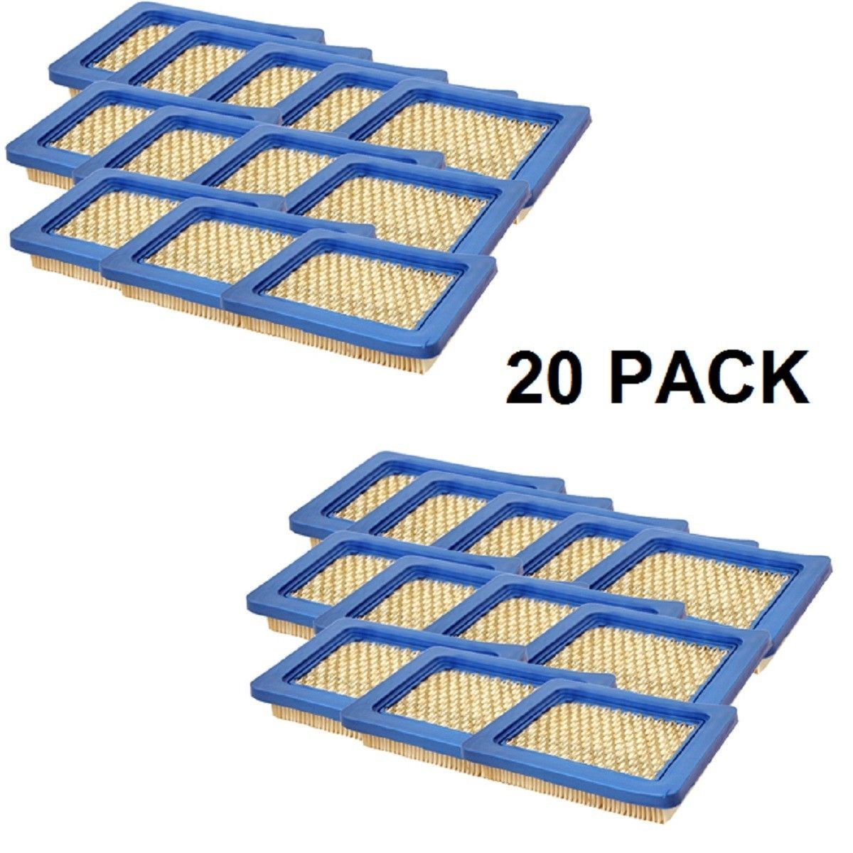 20 Pack of Air Filters fit 30-710, 12941, 20 491588S, LG491588, LG491588S