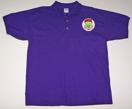 2 X Polo Purple Shirt W/ Adorable Frog Wearing Her Red Hat For Ladies Of Society - $21.52