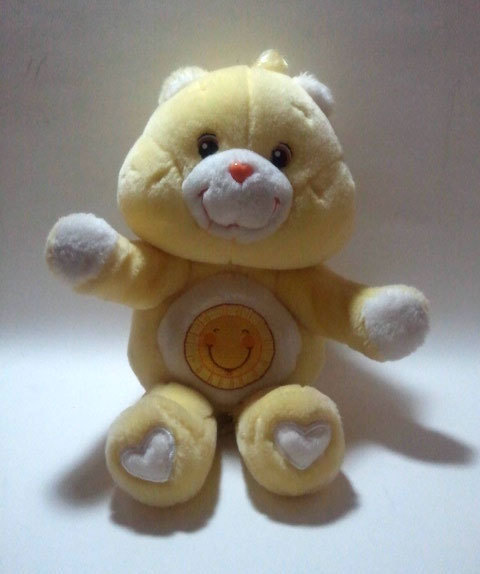 "Care Bears ""Funshine Bear"" Hugging Plush * 2004 Play Along"