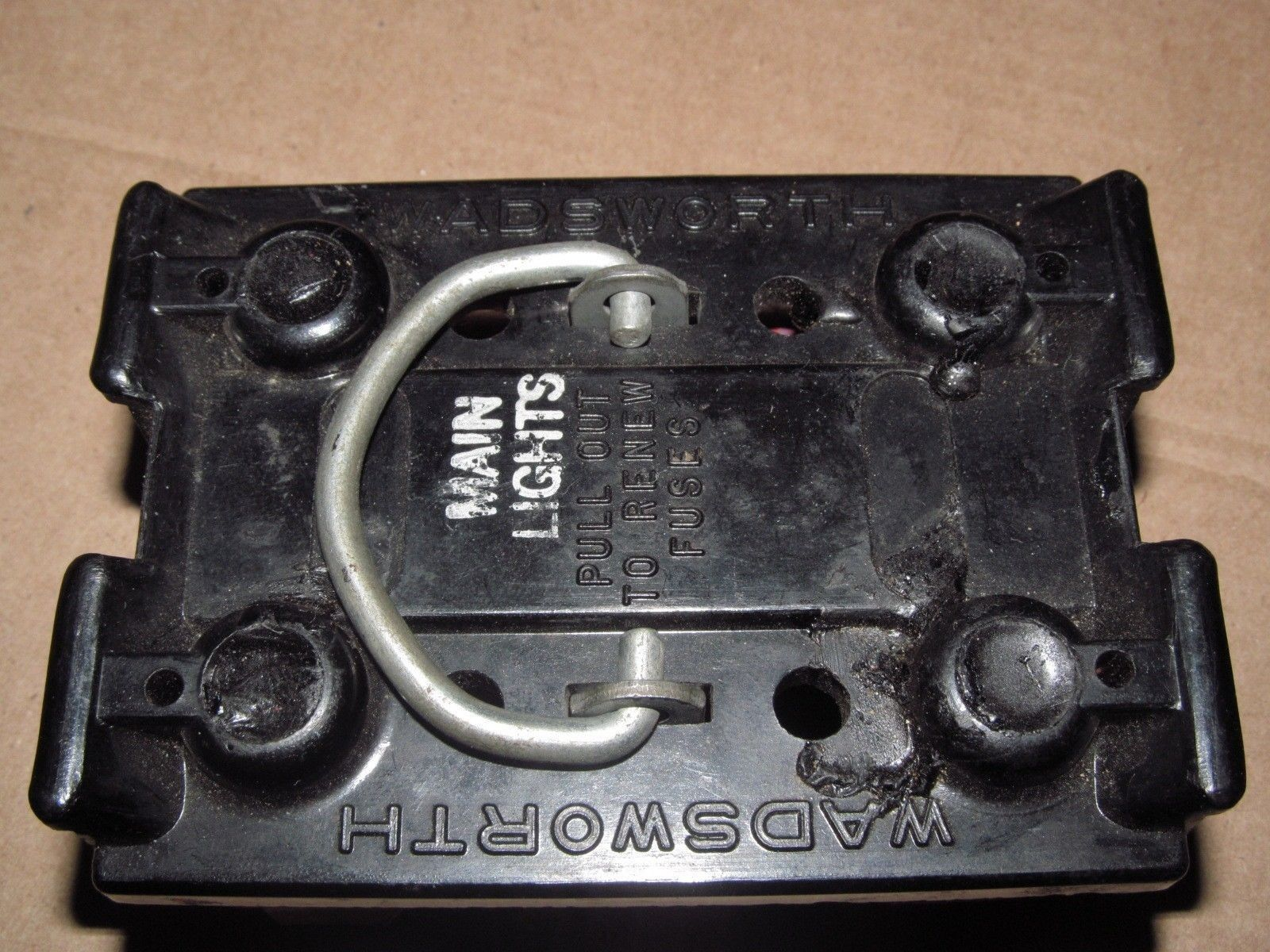 60 amp wadsworth fuse holder pull out free 60a 30a