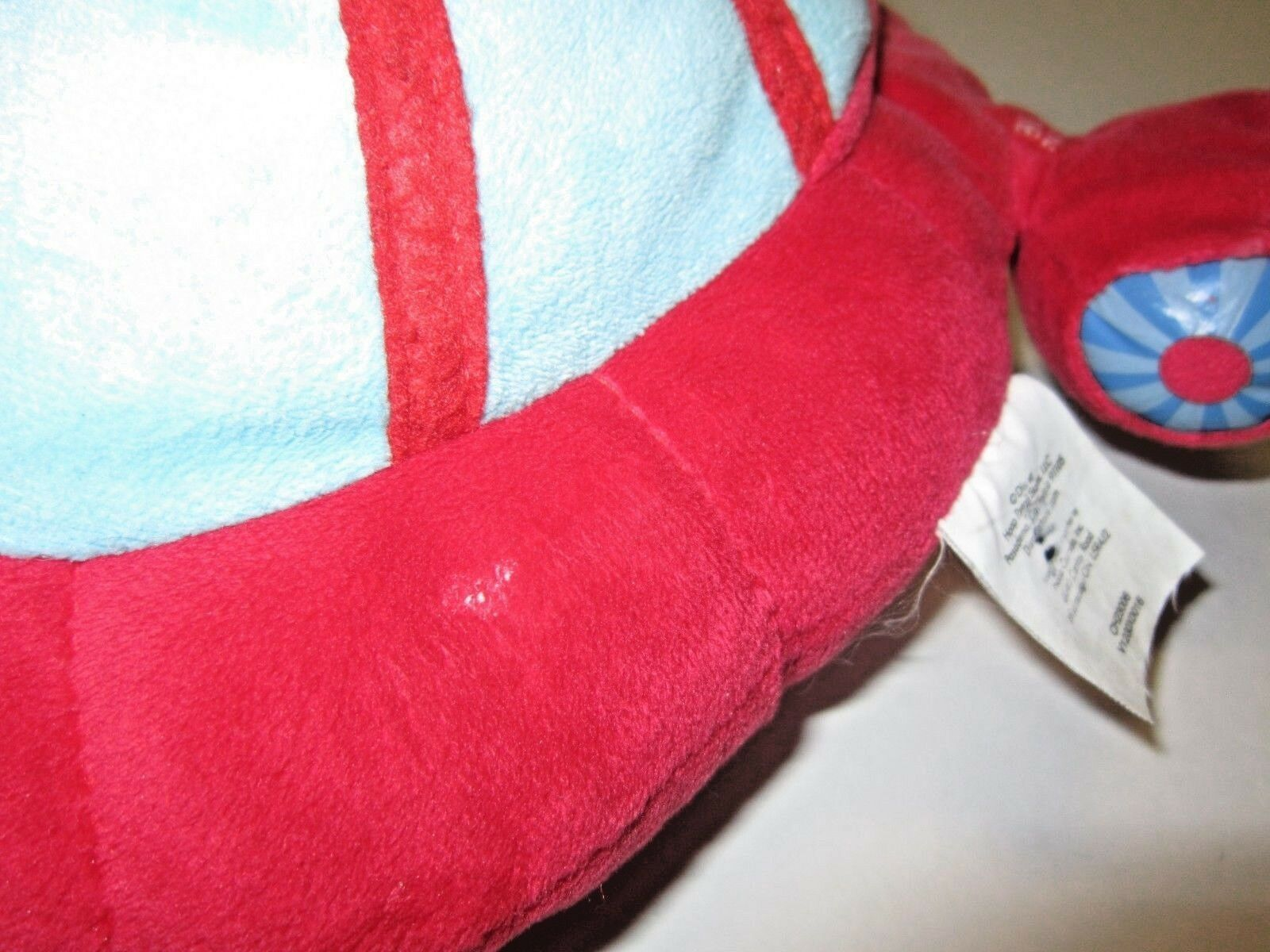 "GUC Little Einsteins Pat Pat Rocket Talking Sound Disney Store 10"" Plush WORKS!!"