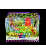 Mattel Winnie the Pooh Very Grand Garden Small Playset 1998 (Damaged Pac... - $39.95