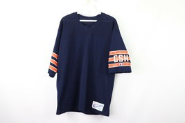 Vintage 80s Champion Mens Large Chicago Bears NFL Football Jersey #50 Blue - $39.55