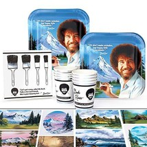 Bob Ross Party Supplies Value Classic Birthday Party Pack, 37 Piece Set,... - $28.55