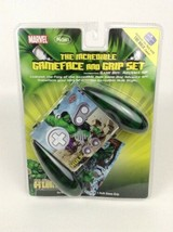 Game Boy Advance The Incredible Hulk Grip Set & Game Face 2003 Marvel Ni... - $26.68