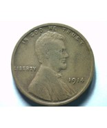 1914 LINCOLN CENT PENNY EXTRA FINE+ XF+ EXTREMELY FINE+ EF+ NICE ORIGINA... - $24.00