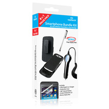 Naztech 4-piece Charger Case Holster Screen Protector Bundle Samsung Gal... - $13.99