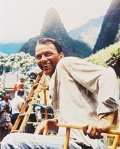 Frank Sinatra the Devil at 4 O'clock Color 16x20 Canvas rare on set smiling s - $69.99