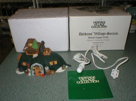 Dept.56 Dickens Village David Copperfield Peggotty's Seaside Cottage #55506 - $16.59