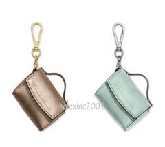 $58 Michael Kors AVA Handbag Purse Bag Satchel Leather Key Fob Chain Cha... - $34.96