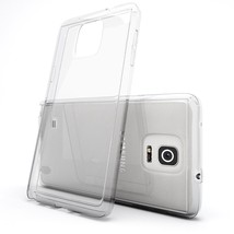 20 pcs lot New Ultra Clear Silicone Slim Soft Case Cover For SAMSUNG NOTE 4 - $47.52