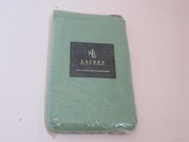 Ralph Lauren Solids Mineral Green Standard pillowcases NIP - $32.25