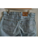 Levis 545 Loose Fit Light Blue Mens Jeans Made in USA 38 X 30 - $26.99