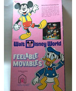 "Walt Disney World ""Mickey Mouse & Donald Duck"" Feelable Movables FOR PAR... - $4.88"