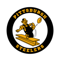 PITTSBURGH STEELERS NFL FOOTBALL VINTAGE LOGO TEE SHIRT - $19.95+