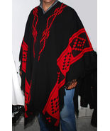 Poncho Argentino original Argentina , winter cape  , wool poncho , 100% ... - $79.00