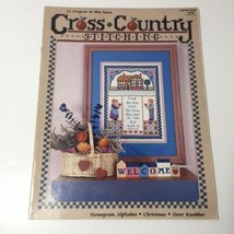 Premier Issue Cross Country Stitching Magazine Jeremiah Junction - $9.74