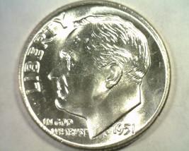 1951-D D/D RPM#1 NORTH ROOSEVELT DIME GEM NICE ORIGINAL COIN BOBS COIN F... - $19.00