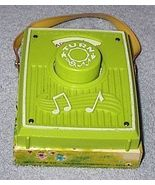 Toy Fisher Price Music Box Pocket Radio #768 Happy Birthday Retro Vintage - $12.00