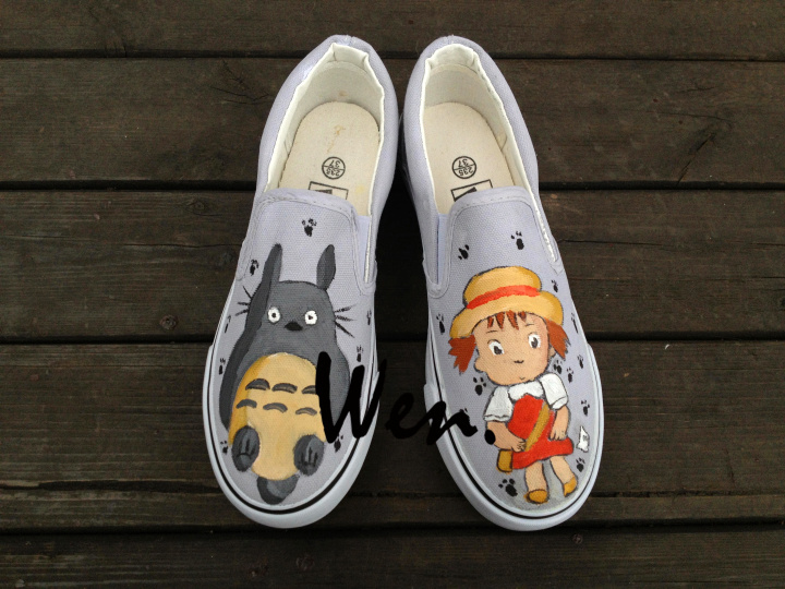 Wen Anime Totoro Design Custom Slip On Shoes and 50 similar items. Img 6440 2ef0bc0b95ec