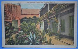 OLD SPANISH COURT, NEW ORLEANS, LA. POSTCARD - UNUSED - $3.49