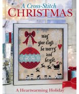 A Heartwarming Holiday A Cross Stitch Christmas book Cross Stitch & Need... - $36.00