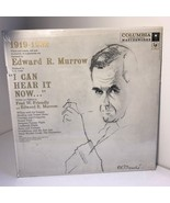 VINTAGE VINYL RECORD EDWARD R MURROW LP I CAN HEAR IT NOW COLUMBIA WILL ... - $24.75