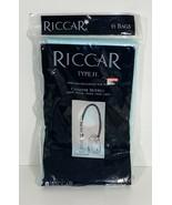 Riccar Genuine Type H Paper Vacuum Bags See Canister Models Below 6 Bags - $13.86