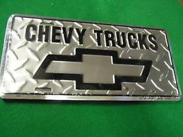NEW- CHEVY  TRUCKS License Plate - $9.49