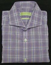Michael Kors Purple Plaid Regular Fit Long Sleeve Dress Shirt - 16 1/2 -... - €29,72 EUR