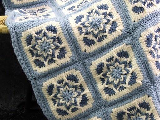 Crochet Pattern Leaflet AMAZING STAR AFGHANS Very Unique!