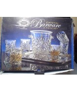 SHANNON / GODINGER BAR SET~~ICE BUCKET & 6 DBL OLD FASHIONS~~IN BOX - $59.99