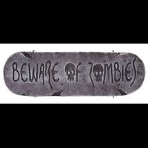 Gothic Horror SIGN-BEWARE of ZOMBIES-Walking Dead Halloween Prop Decorat... - $5.91