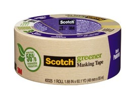 Scotch Masking Tape for Basic Painting, 1.88-Inch by 60.1-Yard - $5.79