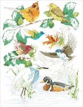 Birds of a Feather cross stitch chart Kooler Design Studio - $10.80