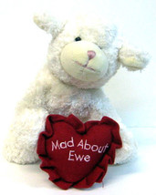 "Boyds Bear ""Luv Ewe""- 6"" Plush Lamb- #82040 ~NWT- 2002 -Retired - $9.99"