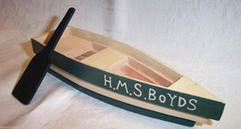 "Boyds Bear * H.M.S. Boyds Rowboat"" 7inch  * New * Retired - $6.99"