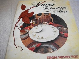 Leaves Instructions and More Art Painting Book - $5.00