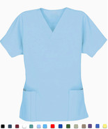 Women's Scrub Tops - Brown - Size 2XL - New Scrubs - $7.99