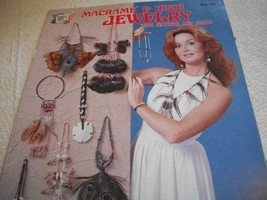 Macrame' & Hishi Jewelry with Feathers and Shells - $11.00