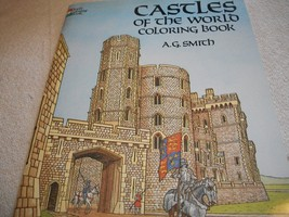 Castles Of The World Coloring Book - $15.00