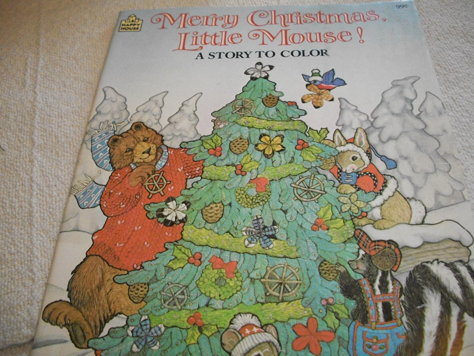 Primary image for Merry Christmas, Little Mouse! Coloring Book