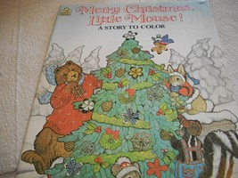 Merry Christmas, Little Mouse! Coloring Book - $6.00
