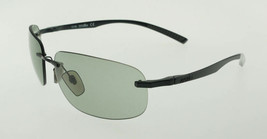 ZERORH+ FORMULA Black / Light Grey Sunglasses RH761-04 61mm - $107.31