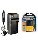 LP-E6NH, 4132C002, Battery + Charger for Canon SLR EOS R5, EOS R6, EOS R... - $35.99