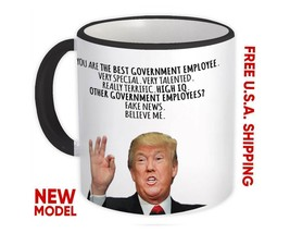 GOVERNMENT EMPLOYEE Gift Funny Trump : Mug Best Christmas Humor - $13.37+